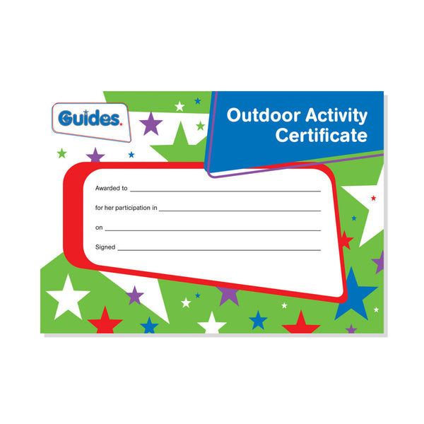 Guide Outdoor Certificate