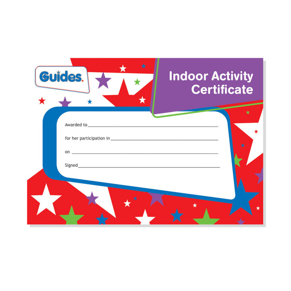 Guide Indoor Certificate