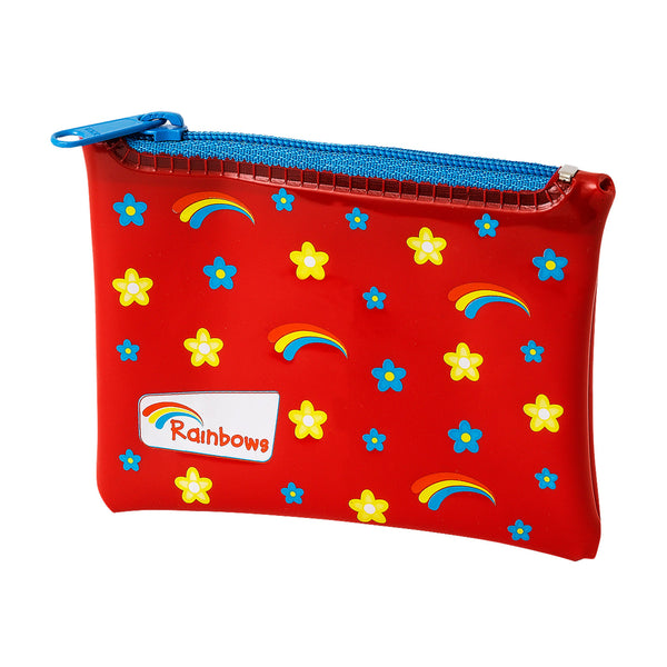 Rainbows PVC purse