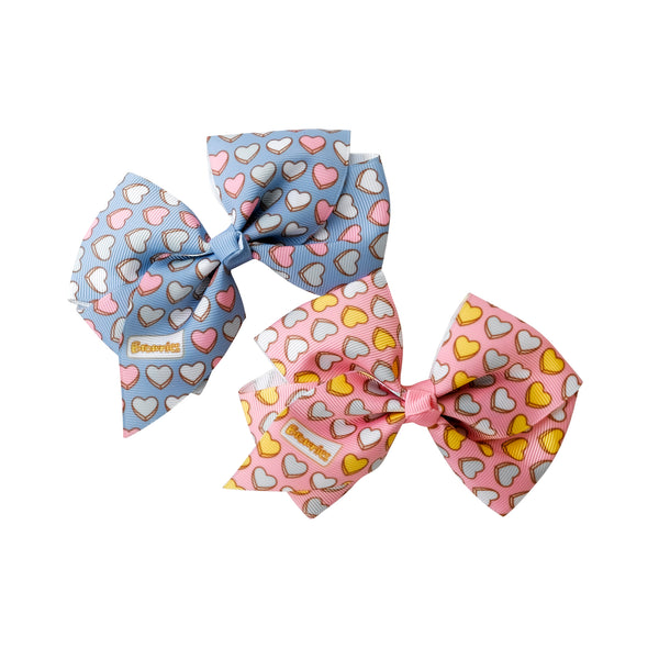 Brownies Hair Bows (2pk)