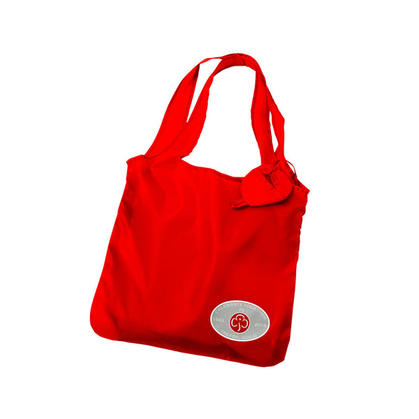 Trefoil Guild 75th Fold-up Bag