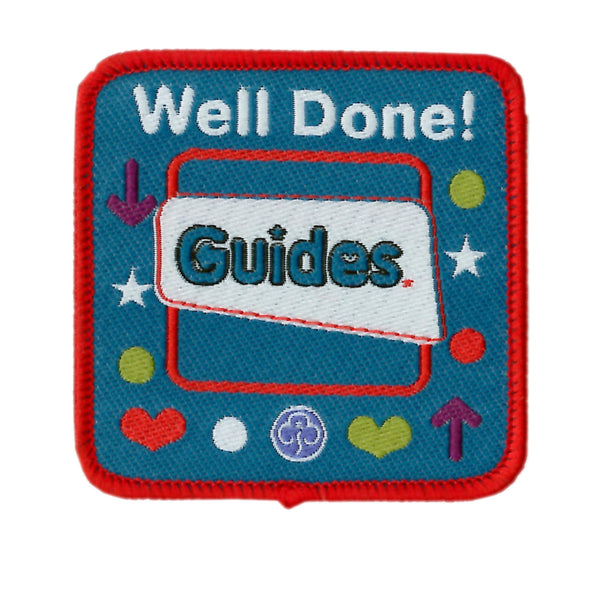 Guide Well Done Badge
