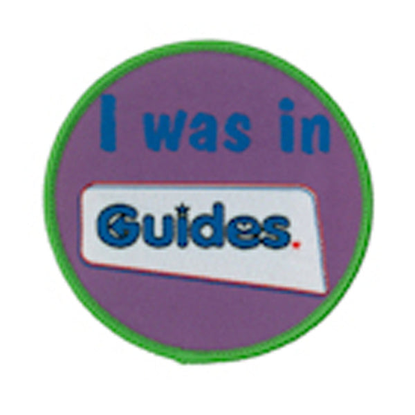 I was in Guides