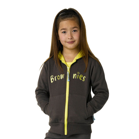 Brownie Hooded Zip Jacket