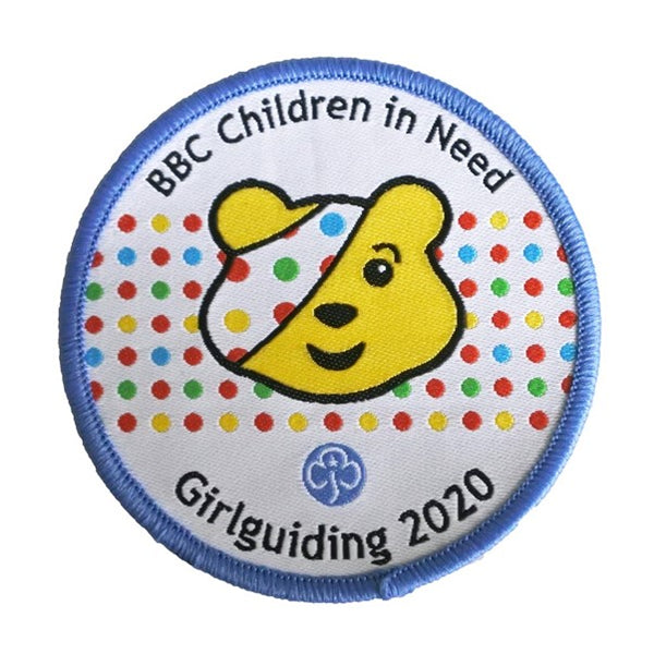 Children in Need woven badge 2020