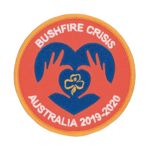 Girl Guides Australia Bushfire Crisis Badge