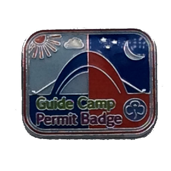 Guide Camp Permit Badge