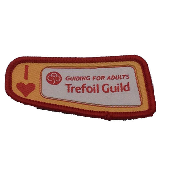 Trefoil Guild I Love Badge