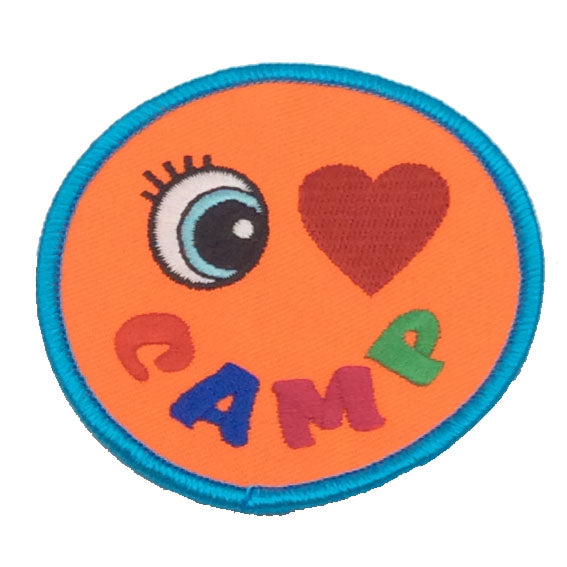 Large Camp Fun Badges