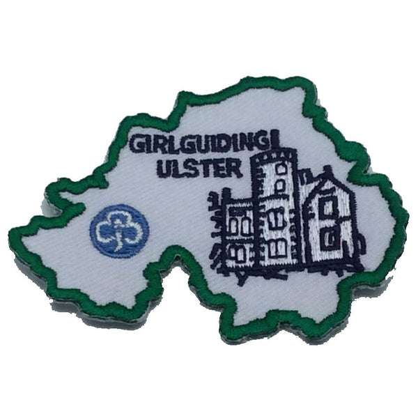 Girlguiding Ulster Map Badge
