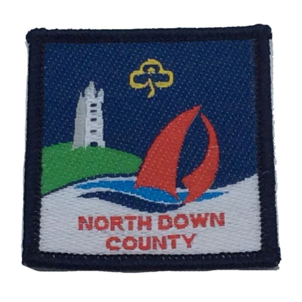 North Down County Badge