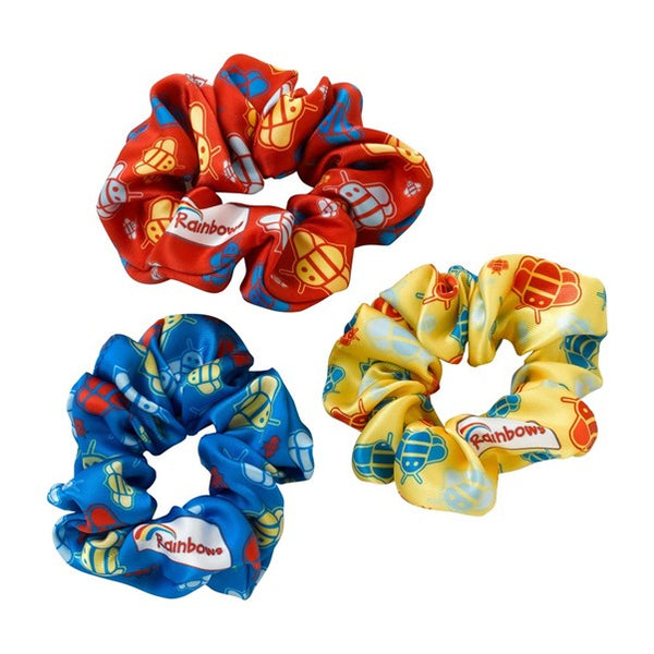 Rainbows scrunchies (3 pk)