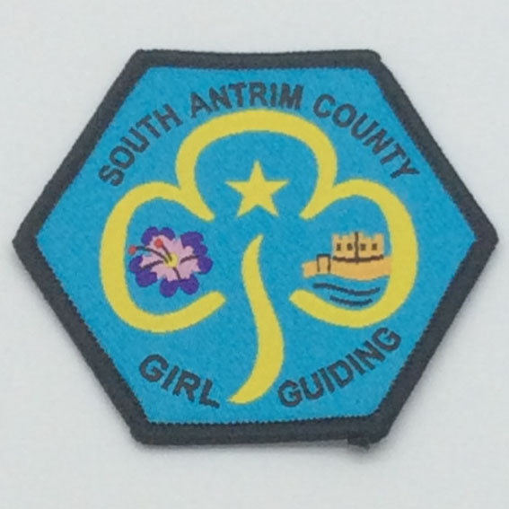 South Antrim County Badge