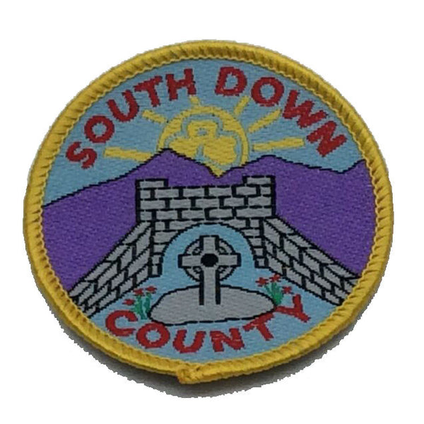 South Down County Badge