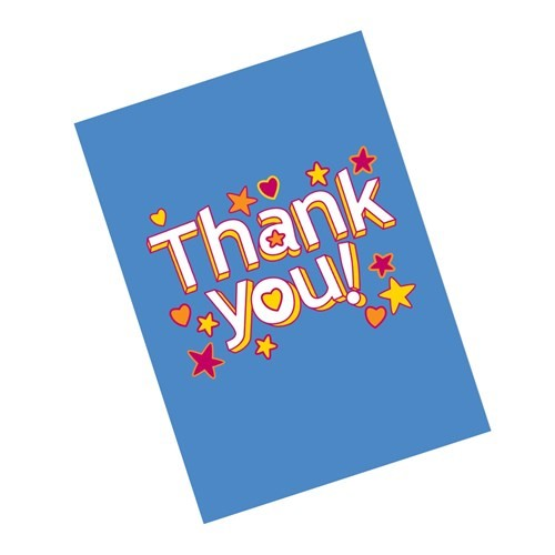Thank You Cards (6 pack)