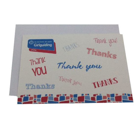 Girlguiding Ulster Thank You Card