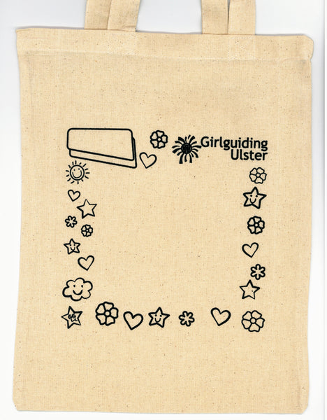 Girlguiding Ulster Canvas Tote Bag