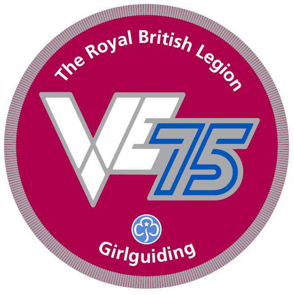 VE Day 75th Anniversary Badge