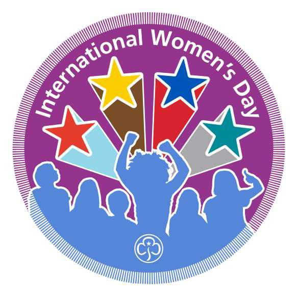 International Women's Day woven badge