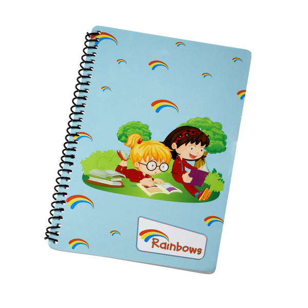 Rainbow A5 Notepad