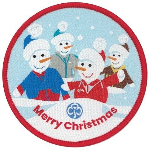 Christmas Woven Badge