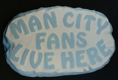Man City Supporters' Plaque