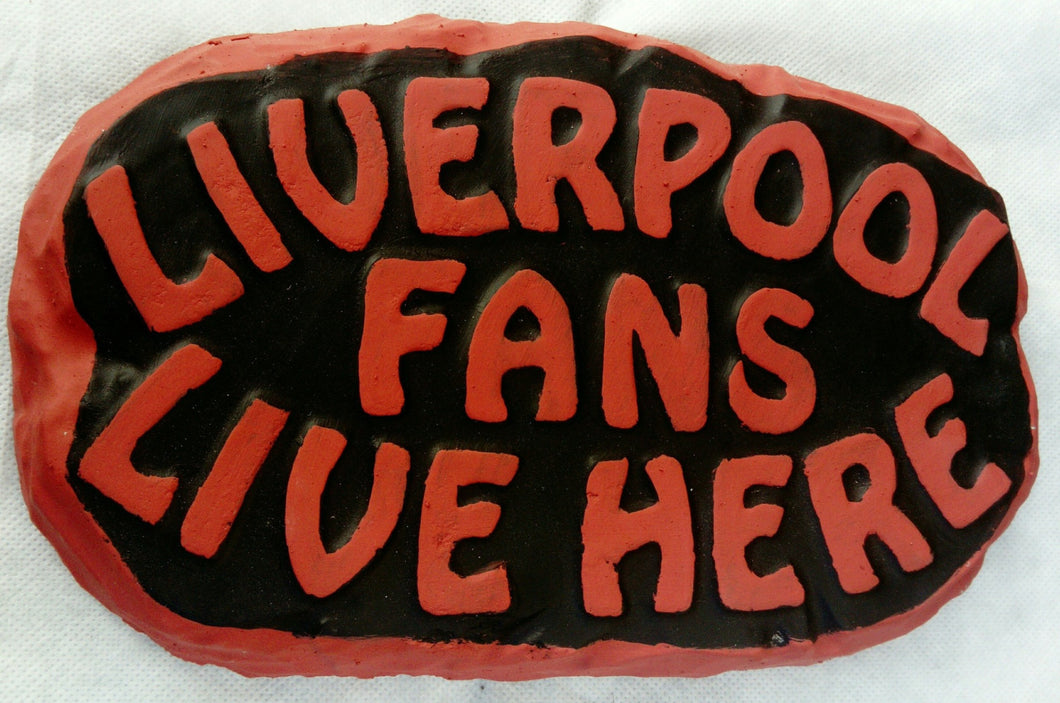 Liverpool Supporters' Plaque, Red Border