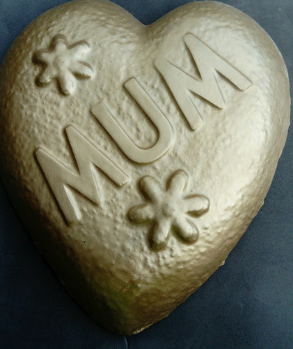 Mum Memorial Plaque, Gold Effect