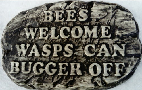 'Bees Welcome' Plaque