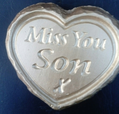 'Miss You Son' Plaque