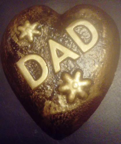 Dad Memorial Plaque, Gold Effect and Black