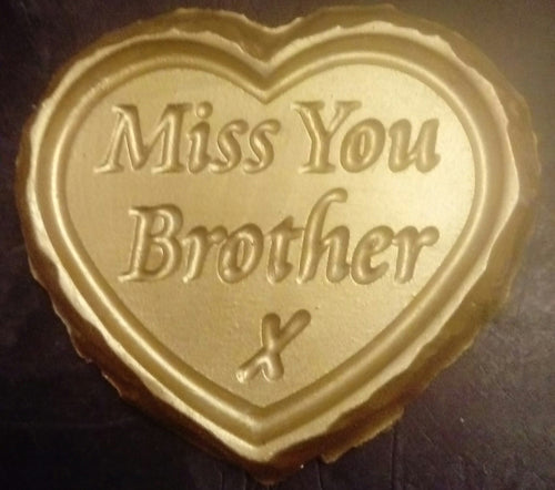'Miss You Brother' Plaque