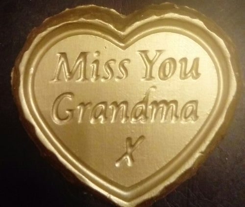 'Miss You Grandma' Plaque