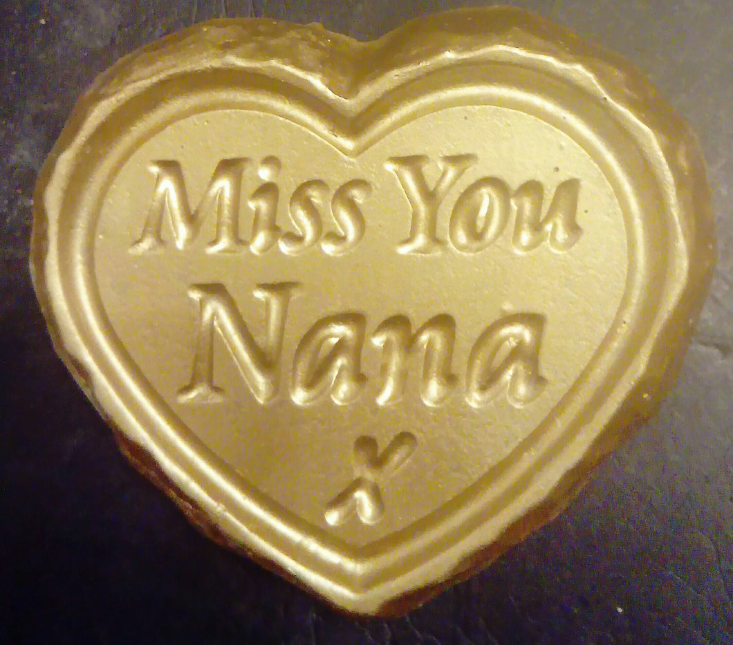 'Miss You Nana' Plaque