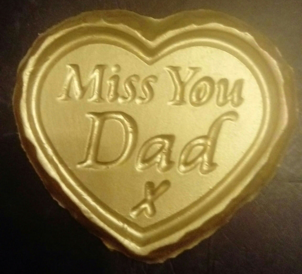 'Miss You Dad' Plaque