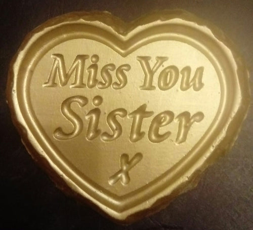'Miss You Sister' Plaque