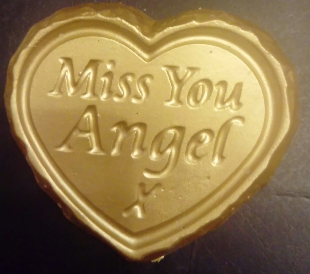 'Miss You Angel' Plaque