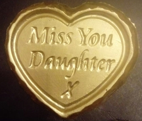 'Miss You Daughter' Plaque