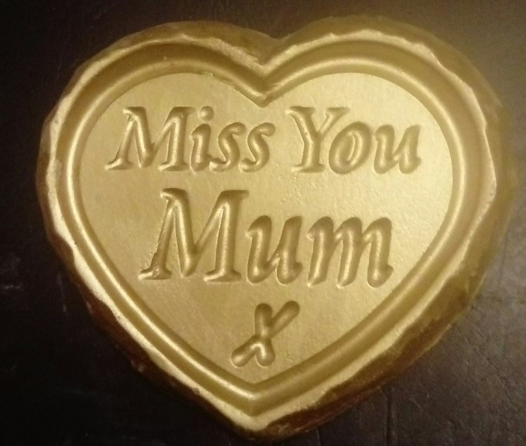 'Miss You Mum' Plaque