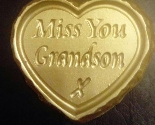 'Miss You Grandson' Plaque