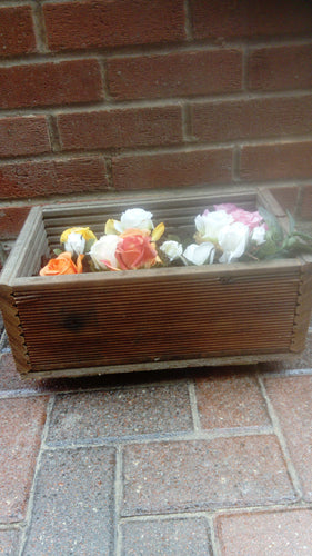 Wood planter(Recycled Decking Board)