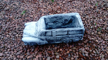 Morris Minor car planter (Grey)