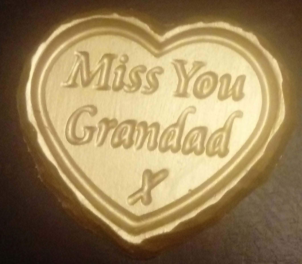 'Miss You Grandad' Plaque