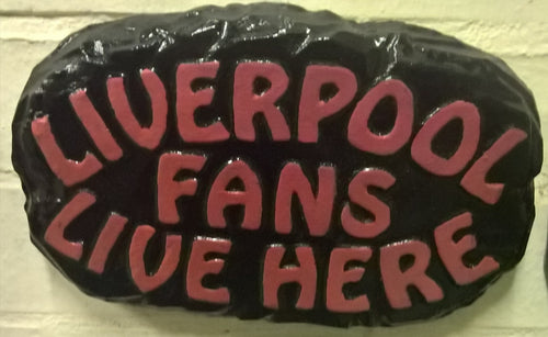 Liverpool Supporters' Plaque, Black Border