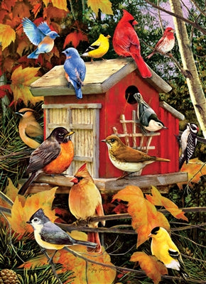 Fall Birds - 1000 brikker