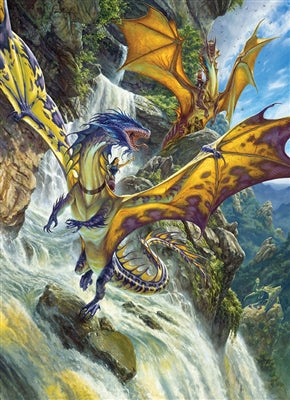 Waterfall Dragons - 1000 brikker