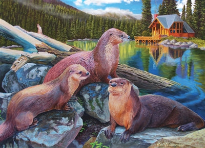 River Otters - 1000 brikker
