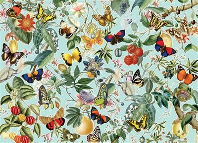 Fruit and Flutterbies - 1000 brikker