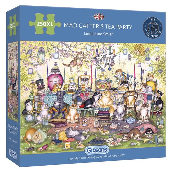Mad Catters Tea Party - 250 XL brikker