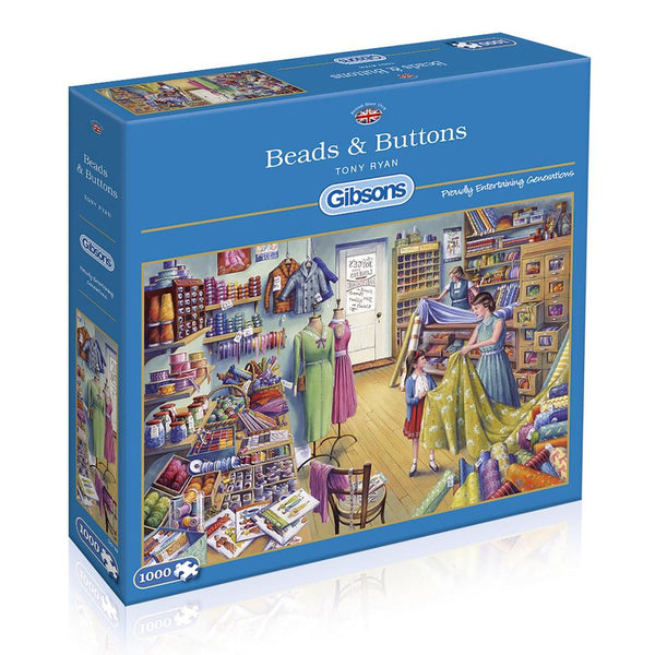 Beads and Buttons - 1000 brikker